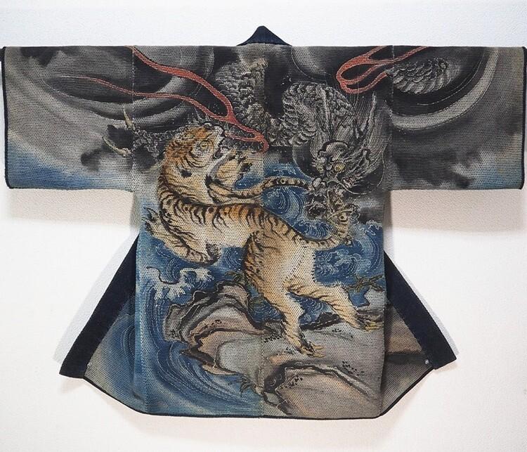 Одеяния японских пожарных 17-19 веков
