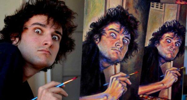 Я пишу автопортрет, на котором я пишу автопортрет: Шеймес Рэй и его рекурсия