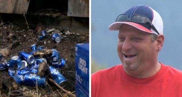 Находчивый американец потушил пожар пивом и спас свой дом и бизнес