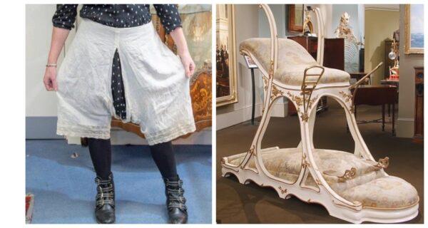 Панталоны королевы Виктории, секс-мебель короля Эдуарда и другие вещи знати, проданные за большие деньги