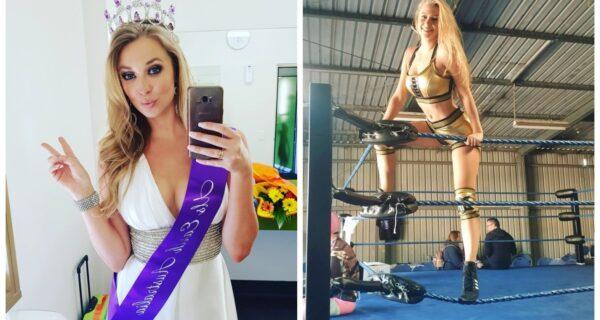 Убийственная красота: «Мисс США» стала рестлером и сломала нос бывшему бойфренду