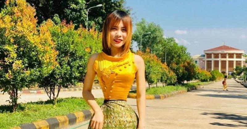 Студентка из Мьянмы ошеломила интернет своей невероятной талией фото
