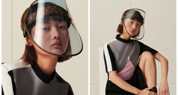 Как выглядят щиты для лица от Louis Vuitton, самые дорогие на рынке, и новый логотип бренда