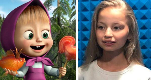 Что известно о юной актрисе, озвучивающей сейчас Машу из мультфильма «Маша и Медведь»