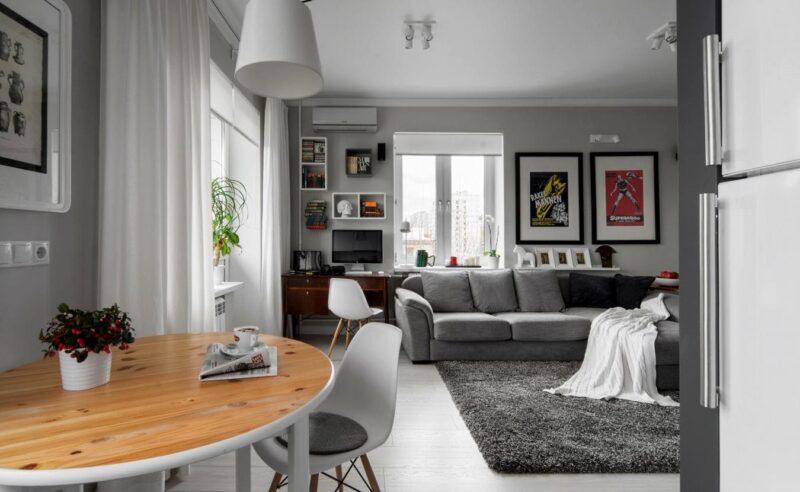 Дизайн однокомнатной квартиры 30 кв.м фото хрущевка » Современный дизайн на Vip-1gl.ru