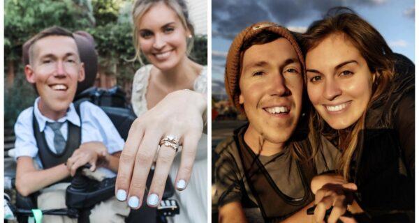 Злобные тролли считают, эта девушка вышла замуж за инвалида только по расчету