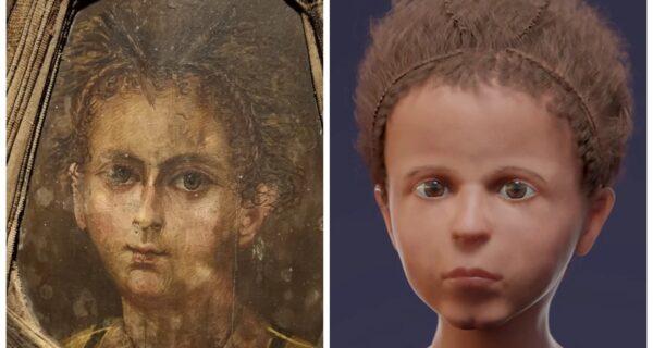 Лицо из прошлого: Ученые воссоздали внешность 3‑летнего мальчика из египетской мумии
