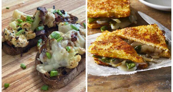 Бутерброд вам в ленту: новый тост с цветной капустой и сыром покоряет соцсети