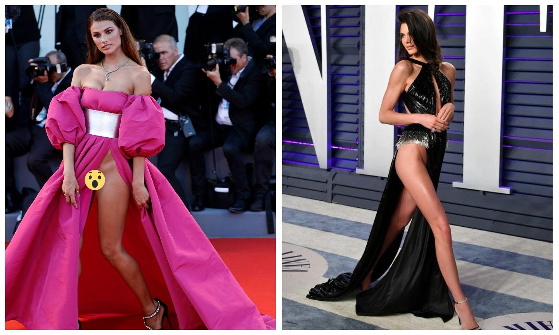 Без трусов и без стыда: почему гламурные красотки не надевают под платья нижнее белье фото