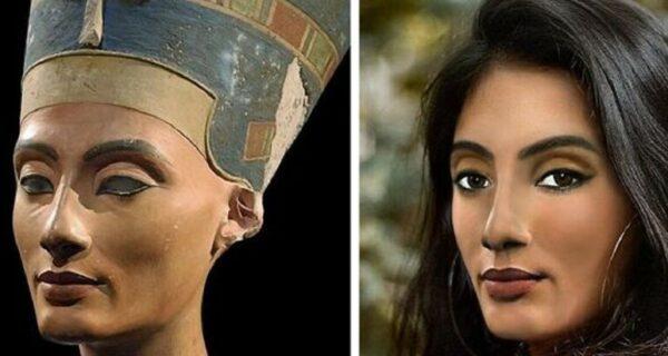 Как выглядели бы в наши дни Нефертити, Бетховен и другие исторические личности