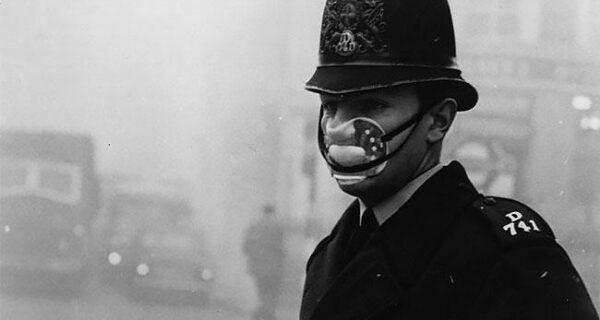 Как лондонцы с помощью масок спасались от Великого смога в 1950‑х