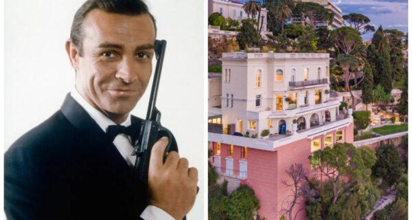 Внутри роскошного особняка Шона Коннери во французской Ривьере, ценой 2,5 миллиарда