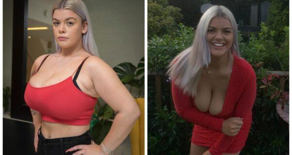 Груз на сердце: юная британка с восьмым размером груди собирает деньги на операцию по ее уменьшению