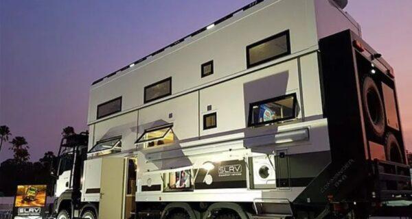 Австралийская фирма создала фургон, в котором можно спастись во время апокалипсиса