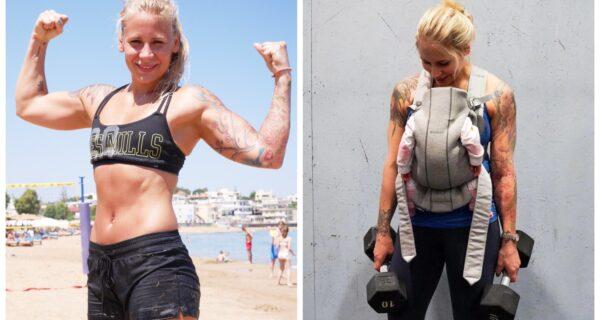 В горящую избу войдет: женщина-пожарный из Норвегии возобновила тренировки через день послеродов