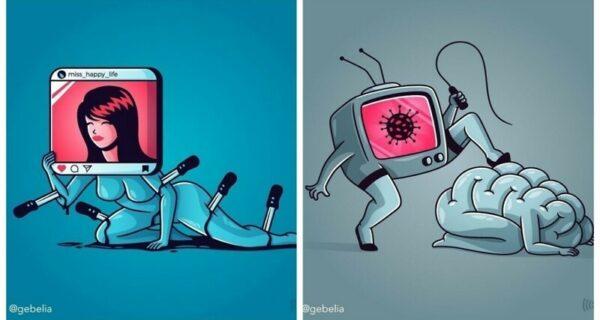 Что не так с нашим обществом: 25 иллюстраций, заставляющих задуматься