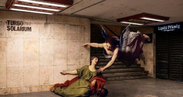 Фотограф заселил Будапешт персонажами классической живописи