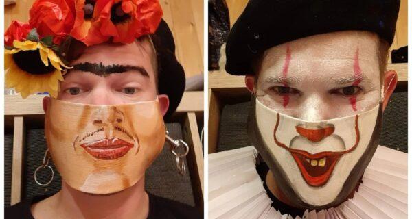 Каждый день – в новой маске: челлендж австрийского художника продолжается!
