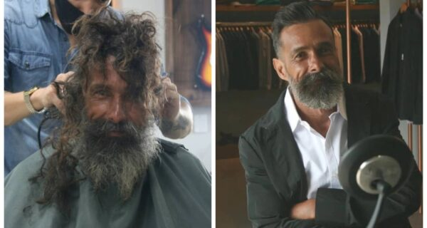 Судьбоносное преображение: после визита в парикмахерскую бомж из Бразилии обрел родственников