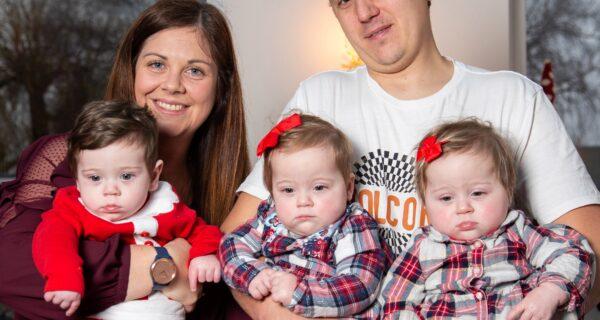 Три близнеца из двух маток: уникальный случай рождения тройни в Великобритании