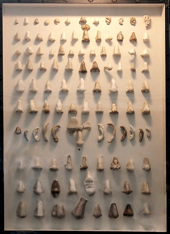Как в датском музее появилась единственная мире коллекция античных носов