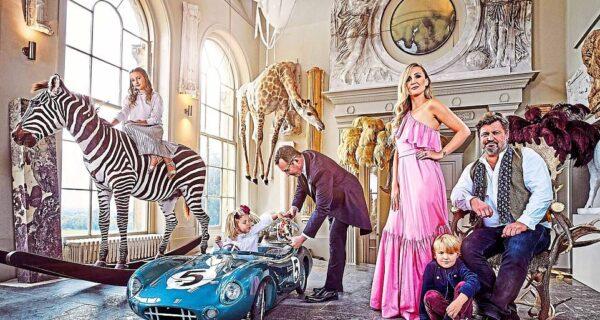 Парад эксклюзива: в самом необычном особняке Великобритании начинается грандиозная распродажа