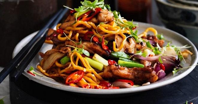 Лапша «вок» - лучшие рецепты пикантного и очень популярного азиатского блюда фото