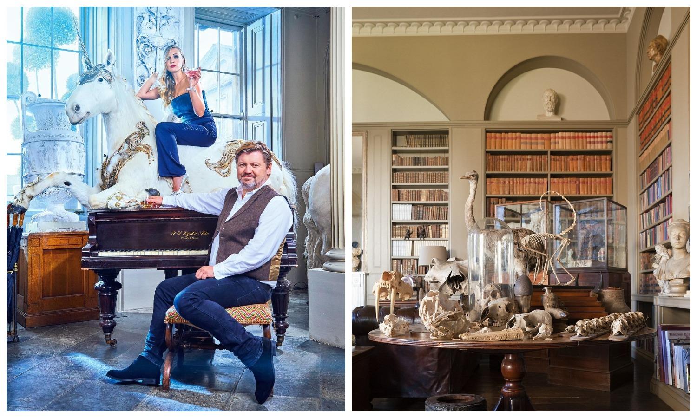 Парад эксклюзива: всамом необычном особняке Великобритании начинается грандиозная распродажа