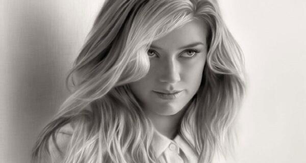 12 красивых девушек на гиперреалистичных портретах карандашом от Мусы Челика