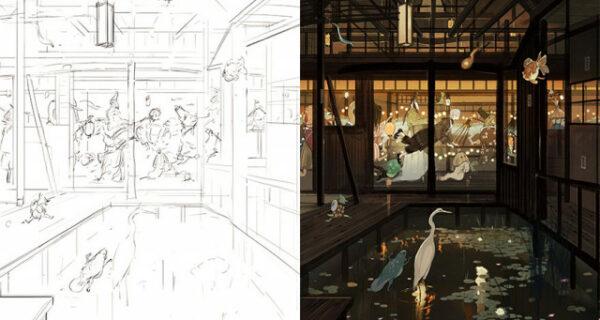 Sketch vs. Final: художники показывают свои работы на стадии эскиза и в завершенном виде