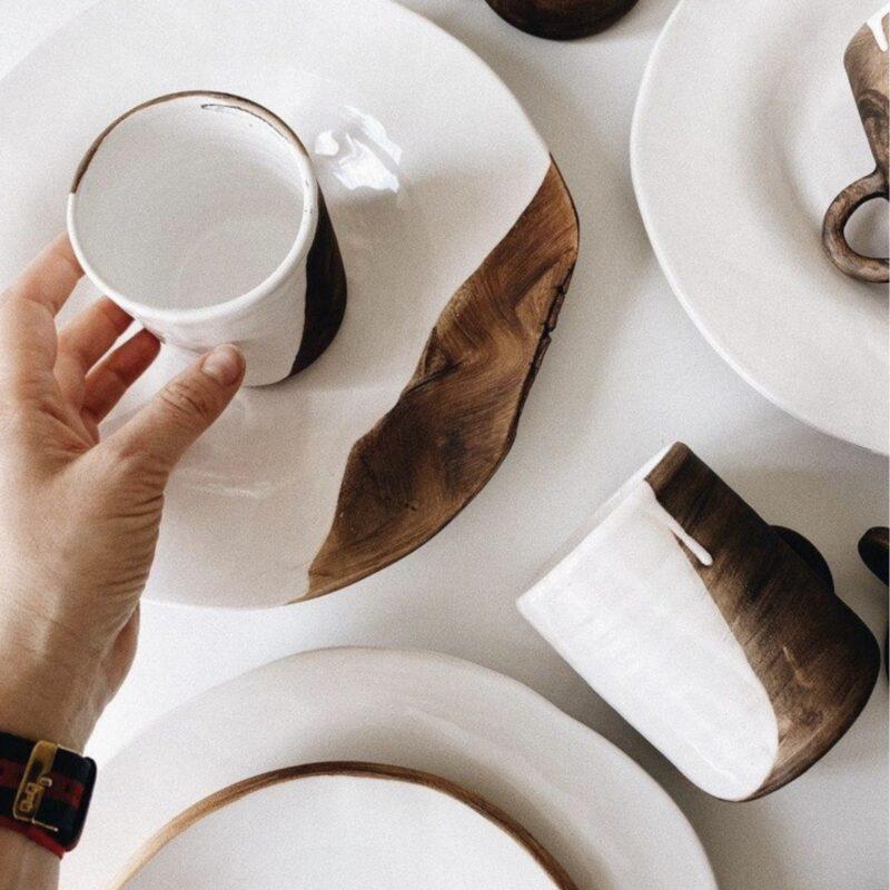Александр Бугеда рассказывает о керамических чашках