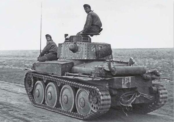 Легкий танк Pz. 38(t)