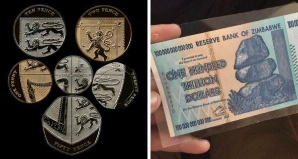 Деньги штука серьезная – удивительные купюры и монеты со всегосвета