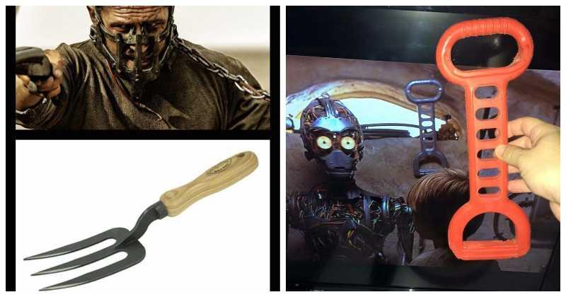 22 примера, когда киношников поймали за использованием обычных предметов в качестве реквизита фото