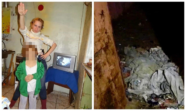 В Подмосковье в грязном доме полном котов обнаружили девочку-маугли