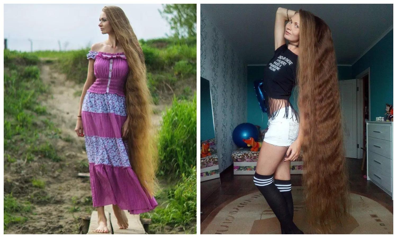 Русская Рапунцель: жительница Барнаула впечатляет роскошными волосами