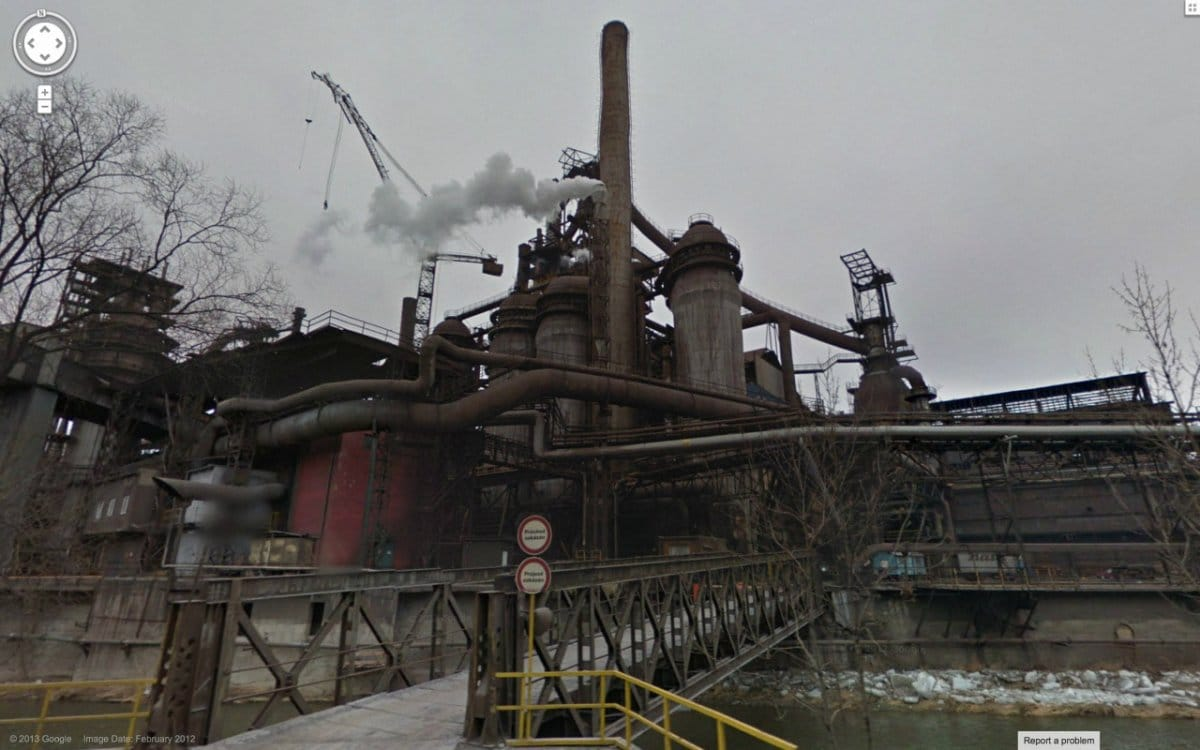 Bigpicture ru and the location of this rusted industrial factory