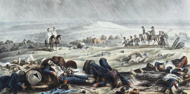 «Смешались в кучу кони, люди»: ужасная судьба раненых солдат в битве при Бородино