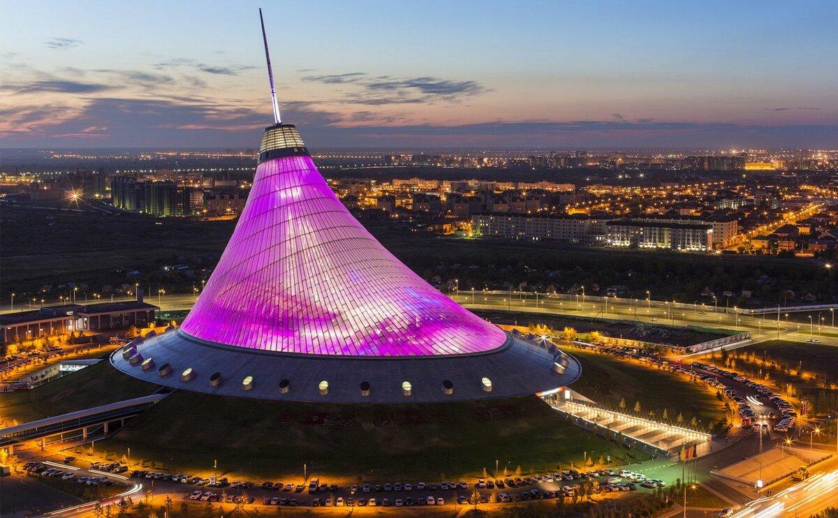 Торгово-развлекательный центр в Казахстане