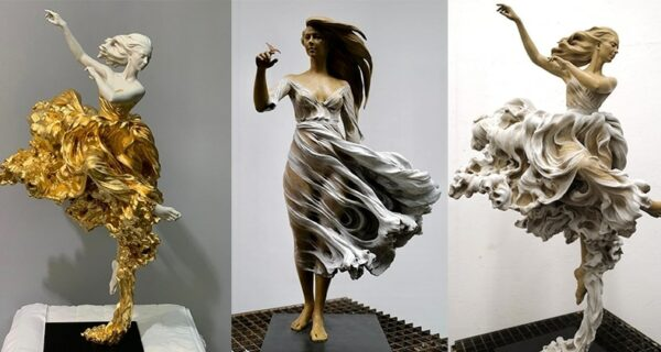Сексуальные и невероятно реалистичные скульпторы Ло ЛиЖун