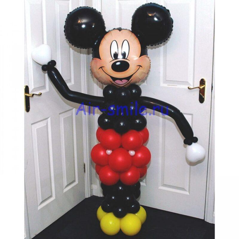 Фигура из шаров Микки Маус