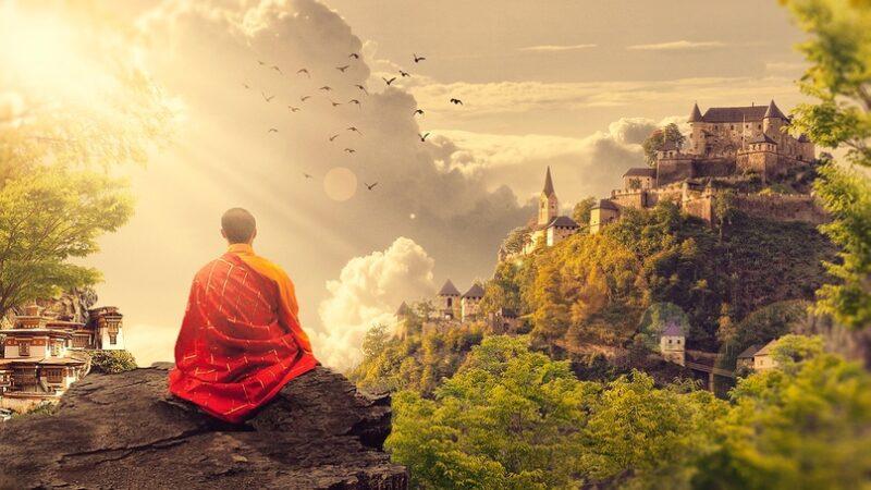 Bigpicture ru buddijskij monah smotrit na dom