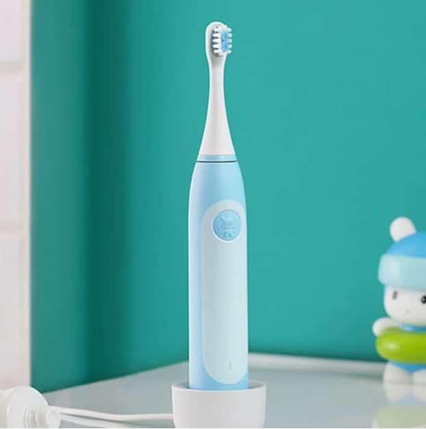 электрическая детская зубная щетка