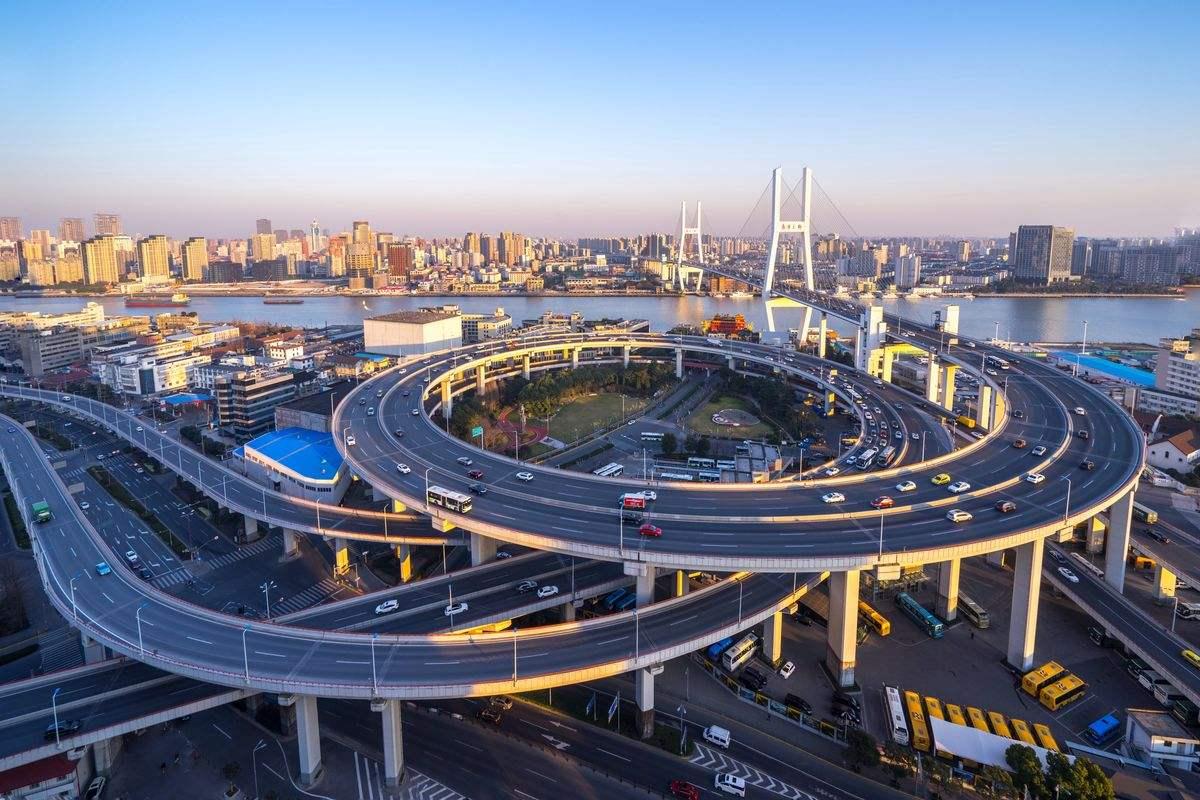 Bigpicture ru nanpu bridge interchange 1
