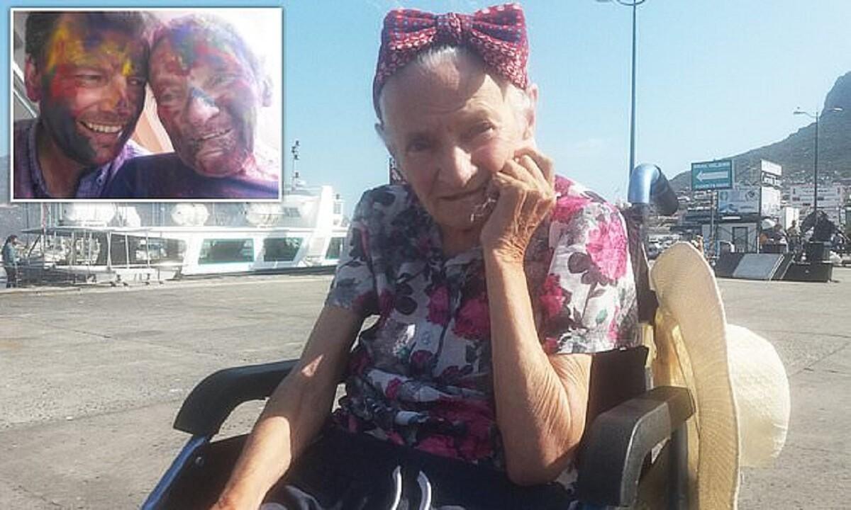 Любящий сын устроил кругосветное путешествие маме с болезнью Альцгеймера
