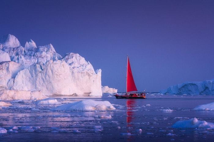 Ледники и тишина: исчезающая красота Гренландии в объективе Альберта Дроса