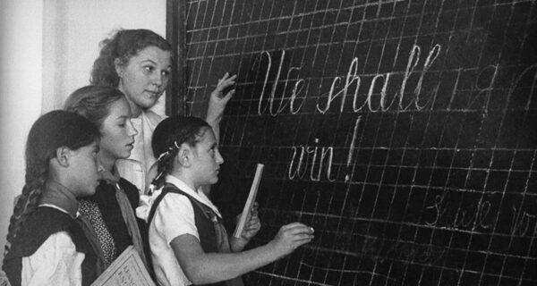 Почему в школах СССР до 70‑х годов массово изучали немецкий, а не английский