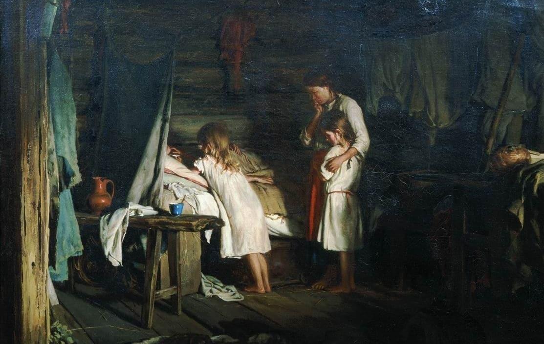 Как на Руси без врачей определяли наступление смерти фото