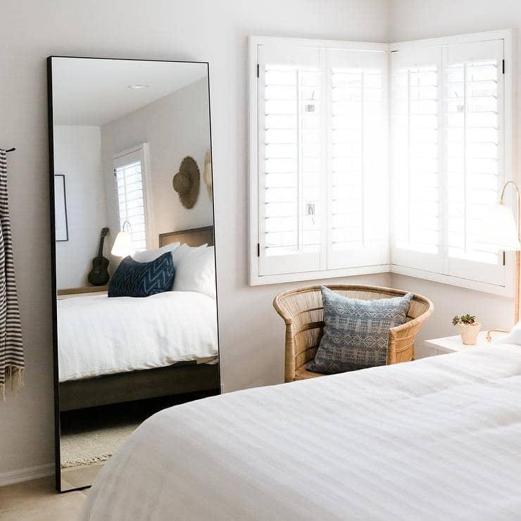 Bigpicture ru bedroom black leaner mirror
