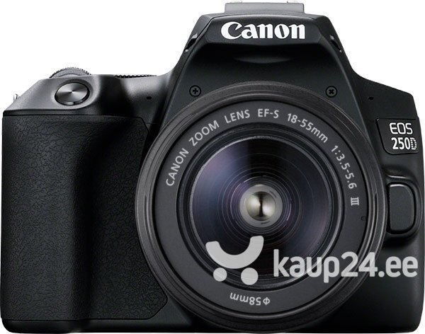 fotoapparat canon eos 250d 18 55mm